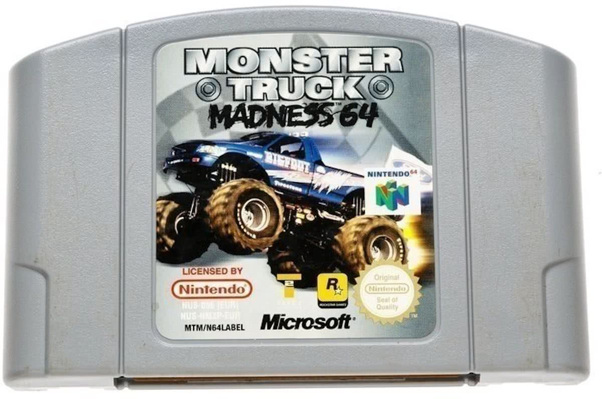 Monster Truck Madness - Nintendo 64 [N64] Game PAL
